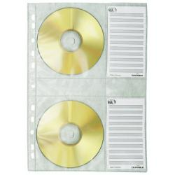 Durable CD COVERS A4 5 Pack 5222-19